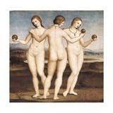 Trois Grâces [Ed195] Reproduction procédé giclée par  Raphael