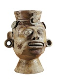 Anthropomorphic Vase with Face Photo