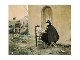 Rusinol and Casas Painting Prints by Santiago Rusinol i Prats
