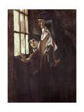 Nuns Prints by Jose Benlliure Ortiz