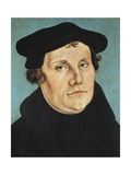 Portrait of Martin Luther Prints by Lucas Cranach the Elder