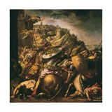 The Retreat of Saracens Giclee Print by Juan de Valdes Leal