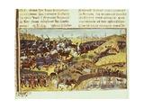 Battle Scene Prints by Rufus Quintus Curtius