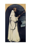 St. Bruno Art by Francisco de Zurbaran