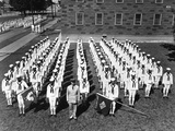 African American Recruits at the Great Lakes Naval Training Station Photo