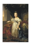 Queen Isabel II as a Child Print by Vicente Lopez y Portana