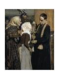 Kissing the Relic Prints by Joaquín Sorolla y Bastida