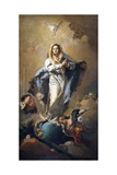 The Immaculate Conception Art by Giovanni Battista Tiepolo