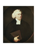 Portrait of a Clergyman Poster av Sir Joshua Reynolds