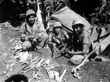 Navajo Code Talkers Landed with the First Marine Assault Waves on Saipan Against Japanese Photo