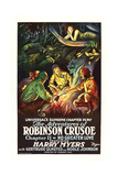 The Adventures of Robinson Crusoe Print