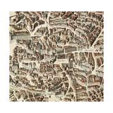 Map of Madrid Prints by F. de Witt