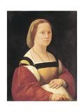 Portrait of Pregnant Woman Reproduction procédé giclée par  Raphael