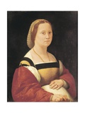 Portrait of Pregnant Woman Poster by  Raphael
