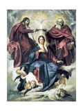 The Coronation of the Virgin Poster by Diego Rodriguez de Silva Velasquez