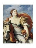 The Rape of Europe Kunstdruck von Guido Reni