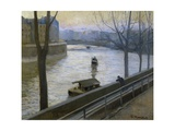 Ille De Saint Louis Prints by Santiago Rusinol i Prats
