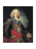 King Fernando Vi of Spain Kunstdrucke von Louis Michel Van Loo