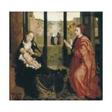 St. Luke Drawing the Virgin Giclée-Druck von Rogier van der Weyden