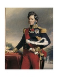 King Louis-Philippe I of France Giclee Print by Franz Xavier Winterhalter