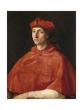 Portrait of a Cardinal Affiches par  Raphael