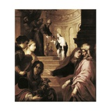 Presentation of the Virgin in the Temple Giclee Print by Juan de Valdes Leal