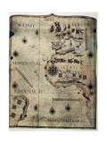 Nautical Chart of the West Coast of Africa, Brazil, the Atlantic Ocean Prints by Jorge Reinel