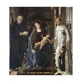 Virgin of the Knight of Montesa Art by Paolo De san leocadio