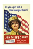 Recruiting Poster for the U.S. Women's Army Corps Print