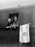 Orphaned Jewish Teens are on their Way to Palestine after Release from Buchenwald Photo
