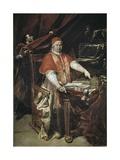 Portrait of Benedict XIV Plakater af Giuseppe Maria Crespi