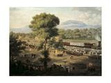 Train in Valley of Mexico Posters by Luis Coto y Maldonado