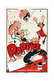 Popeye (Left) Prints