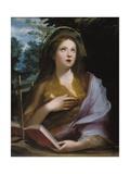 Penitent Magdalene Art by Giuseppe Cesari