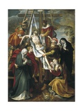 Deposition of Christ Giclée-Druck von Maarten de Vos