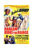 Harlem Rides the Range Print