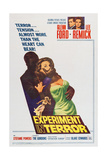 Experiment in Terror Posters