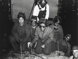 African American Woman Welders Working on the Liberty Ship Photo