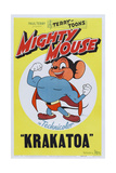 Mighty Mouse in Krakatoa Affiche