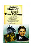 Young Tom Edison Prints