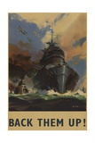 British World War 2 Poster - Reprodüksiyon
