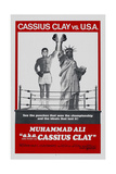 Muhammad Ali A.K.A. Cassius Clay Posters