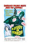 A Study in Terror Sztuka