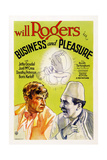 Business and Pleasure Posters