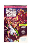 Day the World Ended Posters
