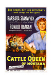 Cattle Queen of Montana Posters