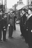 General Charles De Gaulle with Free French Forces in 1943 Photo