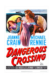 Dangerous Crossing Print
