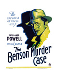 The Benson Murder Case Posters