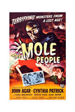 The Mole People Posters